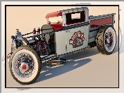 Zabytkowy, Ford Model A Pickup, 1930, Hot Rod