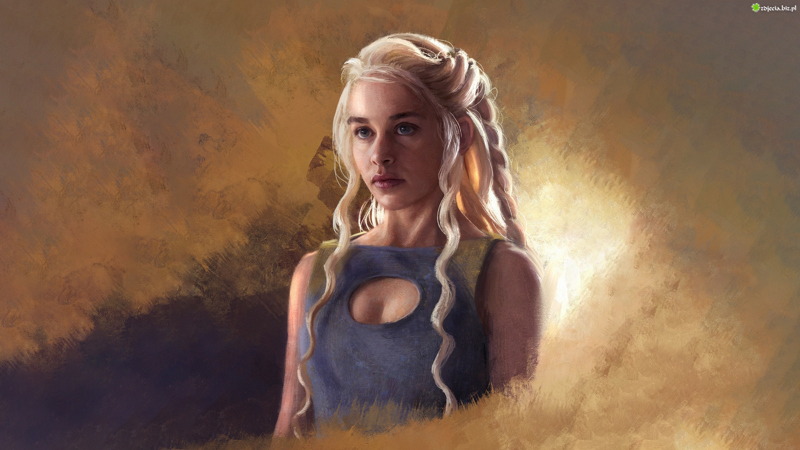 Serial, Gra o Tron, Game of Thrones, Daenerys Targaryen, Aktorka, Emilia Clarke