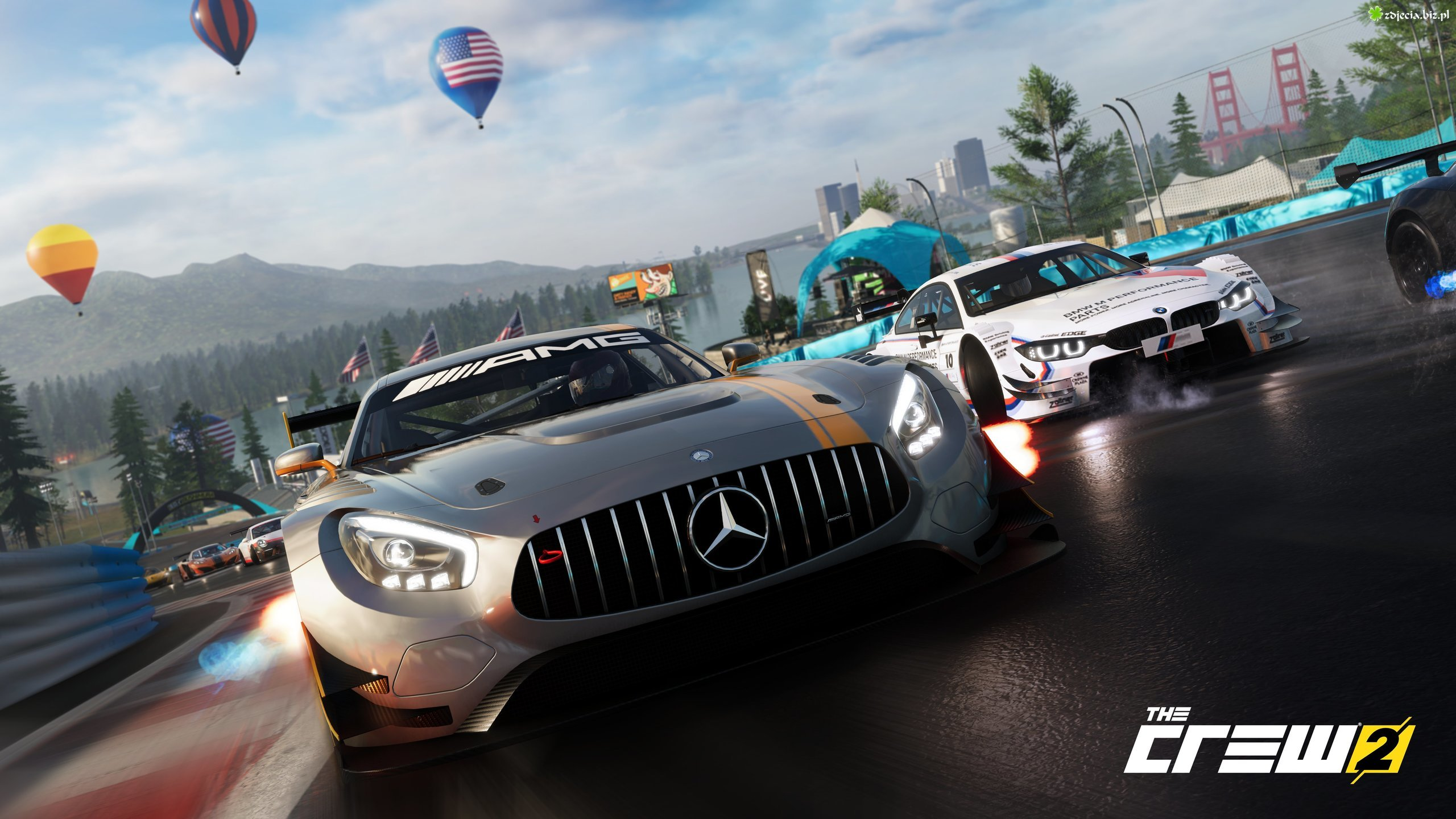 Gra, The Crew 2, Mercedes