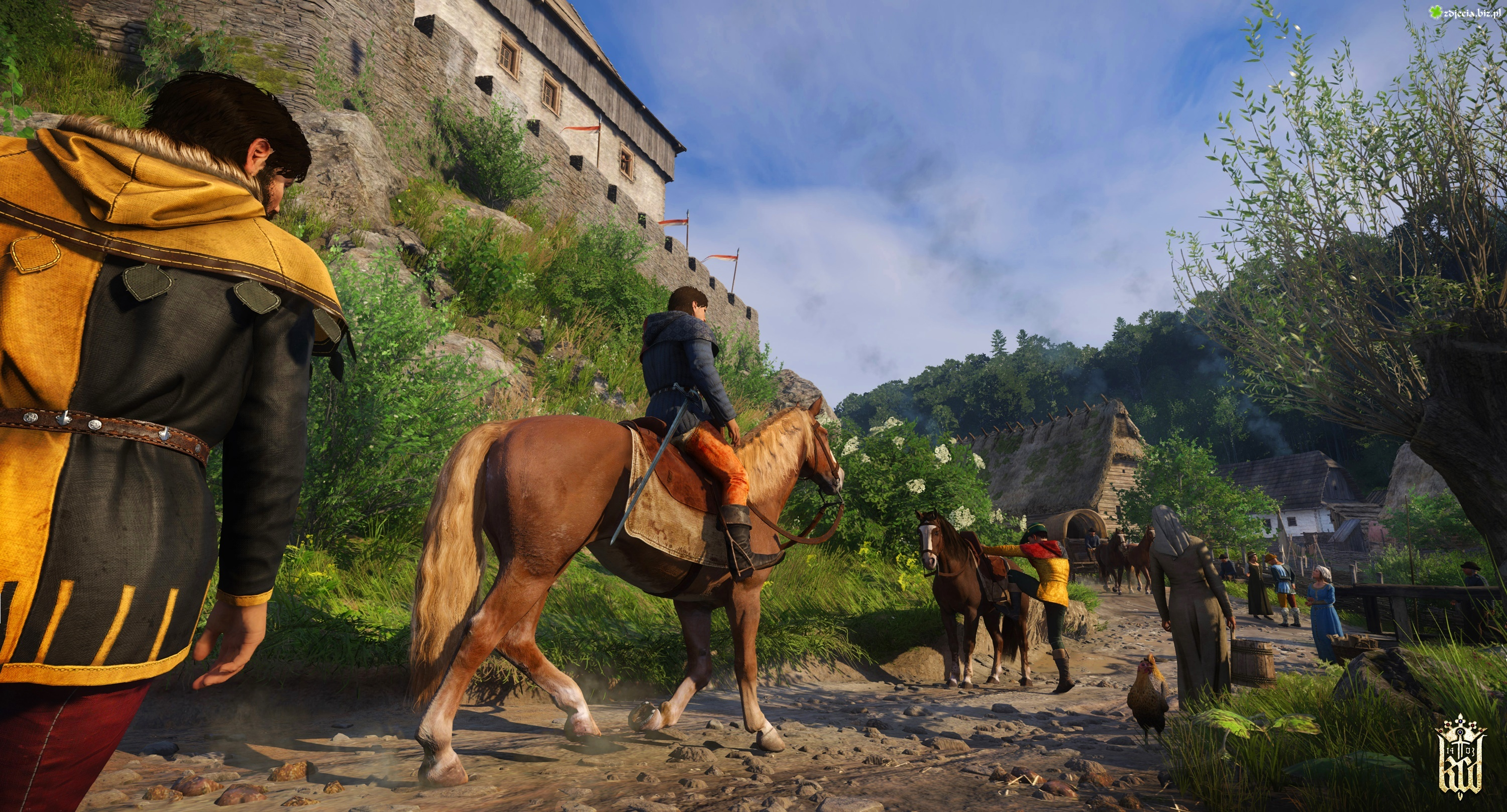 Kingdom Come Deliverance, Postacie, Henry, Koń