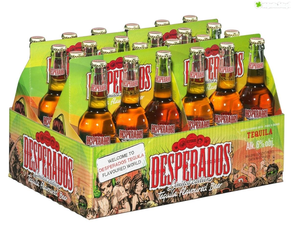 Zdjecie Karton Piwa Desperados