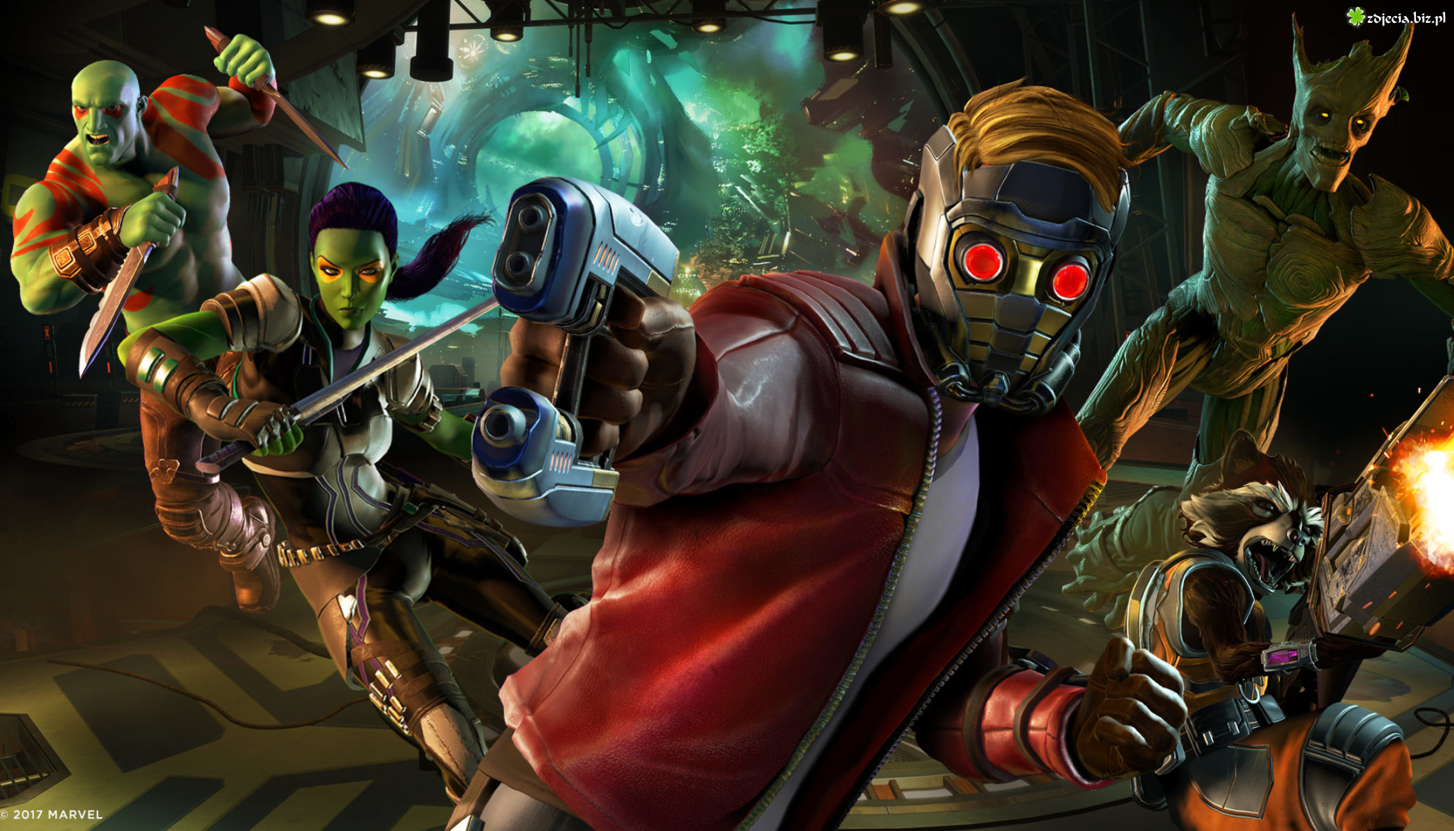 Gra, Guardians of the Galaxy - The Telltale Series, Star-Lord, Strażnicy Galaktyki