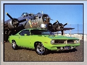 Plymouth Barracuda, 1970, Muscle, Car