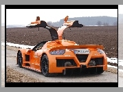 Gumpert Apollo, Dyfuzor, Spojler