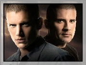 Prison Break, Skazany na śmierć, Wentworth Miller, Dominic Purcell