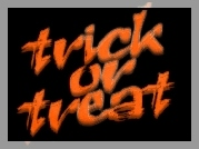 Halloween,tvick of treat