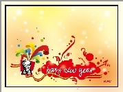 KFC, happy new year