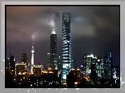Chiny, Shanghai, World, Financial, Center