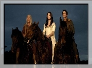 Miecz Prawdy, Legend of the Seeker, Bruce Spence, Bridget Regan, Craig Horner, Konie