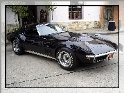 Czarna Corvette C3 Stingray