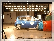 Chevrolet Kalos, Crash, Test