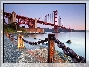 Most, Golden Gate, San Francisco, Kalifornia