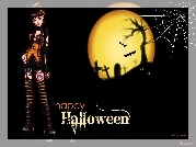Gra, Internetowa, MissFashion, Hallowen