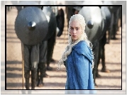 Aktorka, Emilia Clarke, Serial, Gra o tron, Game of Thrones
