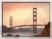 San Francisco, Stany Zjednoczone, Most, Golden Gate