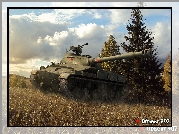 Gra, World of tanks, Czołg, Obiekt 907, Pejzaż