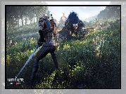 The Witcher 3 Wild Hunt, Wiedźmin 3 Dziki Gon, Geralt, Smok