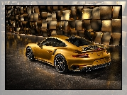 Porsche 911 Turbo S Exclusive Series, 2018, Bok, Tył