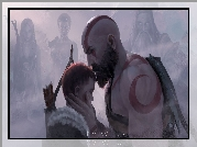 Gra, God of War, Kratos, Atreus, Syn