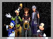 Gra, Kingdom Hearts 3, Postacie