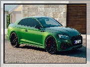 Zielone, Audi RS5 Coupe, Bok