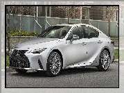 Srebrny, Lexus IS, 2021